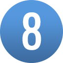 number-circle-08