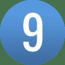 number-circle-09