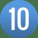 number-circle-10